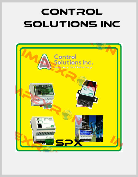 Control Solutions inc-SPX price