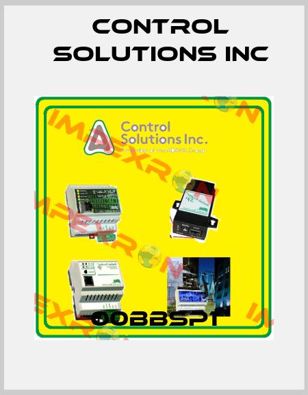 Control Solutions inc-00BBSP1 price
