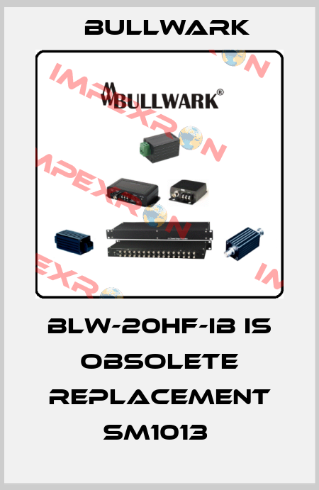 Bullwark-BLW-20HF-IB is obsolete replacement SM1013  price