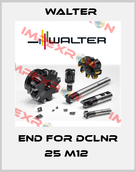 Walter-END FOR DCLNR 25 M12  price