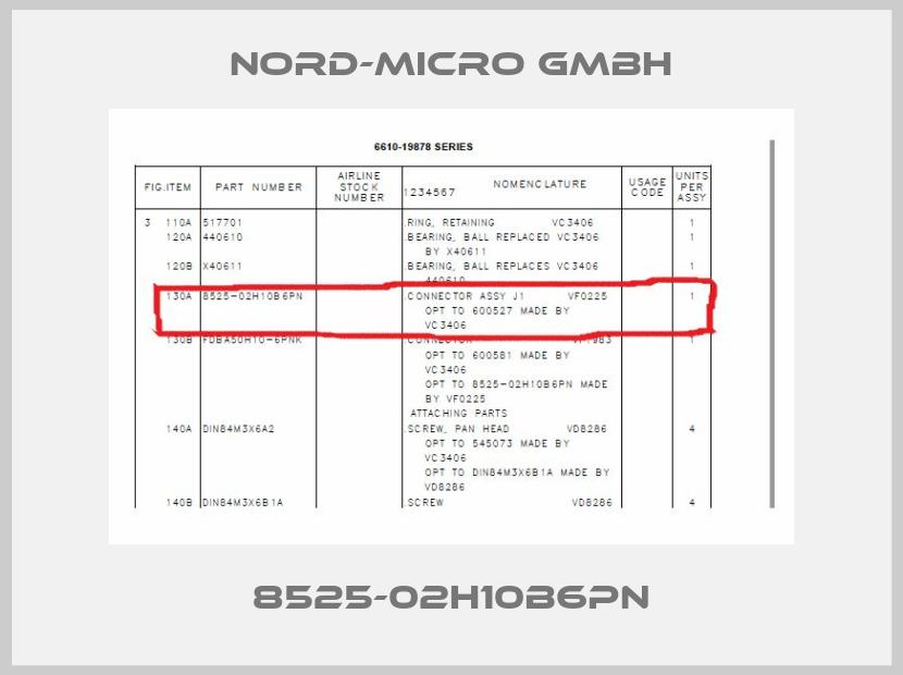 Nord-Micro GmbH-8525-02H10B6PN price