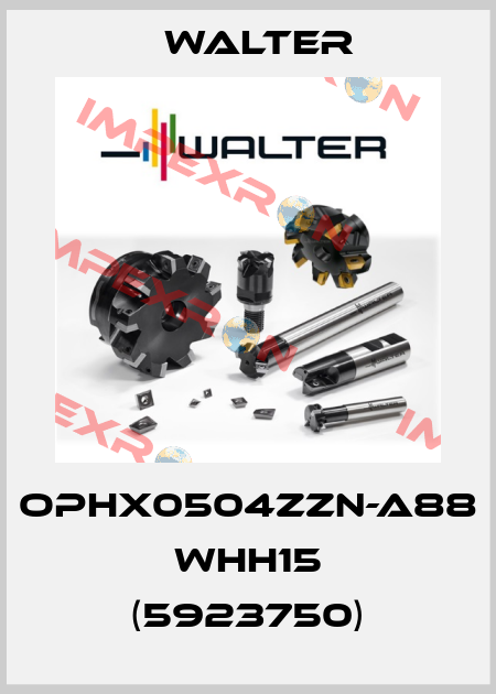 Walter-OPHX0504ZZN-A88 WHH15 (5923750) price