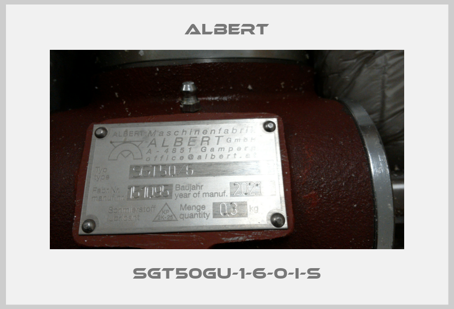 Albert-SGT50GU-1-6-0-I-S price