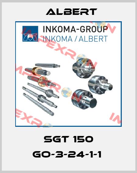 Albert-SGT 150 GO-3-24-1-1  price