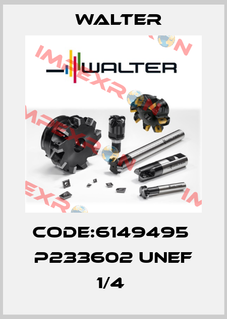 Walter-Code:6149495  P233602 UNEF 1/4  price